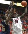 Arizona Basketball  Wildcats 82, Charleston Southern 73