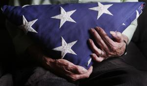 13 veterans' interment flags fly on Fourth of July