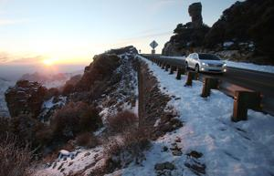 Snow in mountains, rain in Tucson valley expected