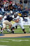NAU tackle, Sabino product is 'luckiest guy ever'