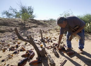 Recycled bottles help rebuild reservation, one man's life