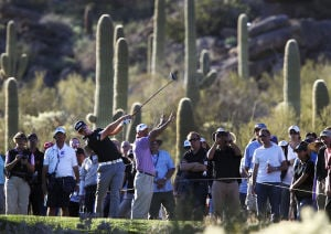 Match Play: Bjorn upsets Tiger on Day 1
