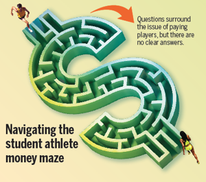 Graphics: Navigating the student athlete money maze