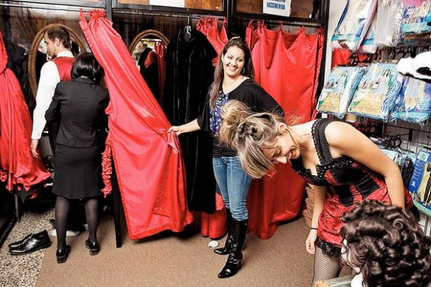 InJoy Thrift Store is one of the biggest and cleanest thrift stores in Tucson. Located at Broadway & Pantano in East Tucson, this spacious store currently has $10 costumes for adults (in size small and medium) and $5 costumes for kids.