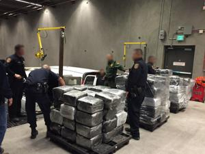 Nogales police, Border Patrol seize $2.1M in pot