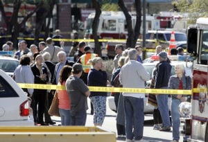 Tucson shooting rampage photos show crime scene, evidence