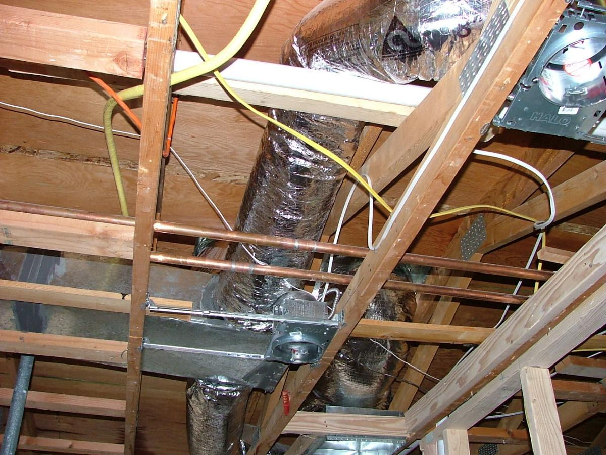 Fan Duct Work : Which kind of ductwork is better rigid or flexible