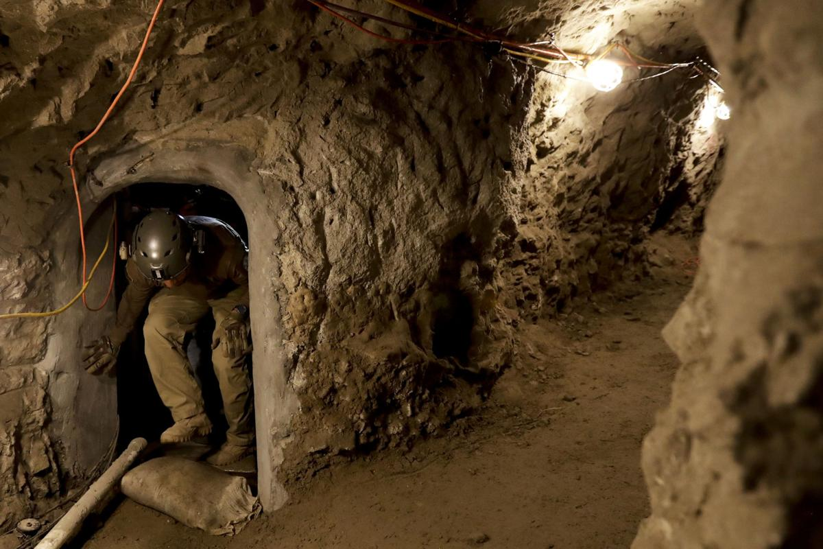 Image result for border patrol tunnel