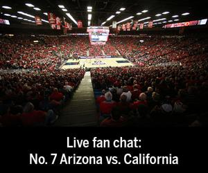 Live fan chat: Arizona vs. California basketball