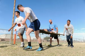 "Airmen in your community: D-M CAF Day: Physically ""Charged"""