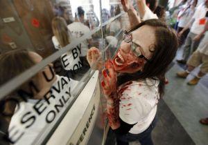 Zombie apocalypse exercise