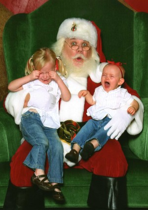 Photos: Scared of Santa 2012 contest entries