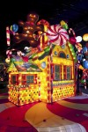 Bright, glittering yule sets create eyes-all-aglow attractions, fun
