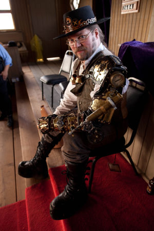 Steampunk sails into Old Tucson