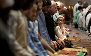 Prayer, celebration mark end of Ramadan