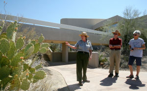 Saguaro National Park offers walks, informative talks