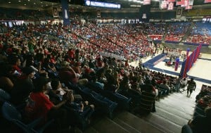 Throng packs McKale to celebrate Wildcats' baseball title