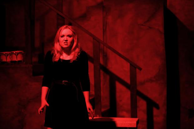 Photos: IRHS Hamlet production has woman in lead role