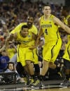 South final No. 4 Michigan vs. No. 3 Florida Channeling Fab Five