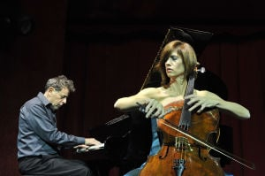 The musical romance of Wendy Sutter and Philip Glass