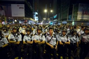 """Líder Hong Kong ve """"fuerzas externas"""" en protestas"""