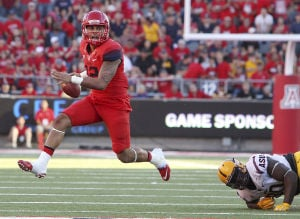 UA football notes: Solomon guts it out