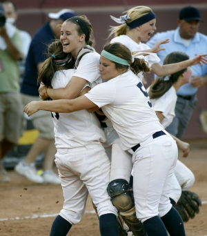 High school softball: I-Ridge comes up with 'monumental win' to capture first state championship