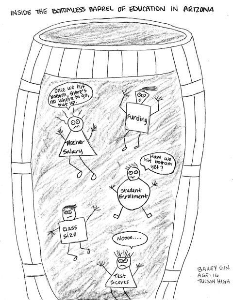 Fitz: Student cartoons for Election 2014