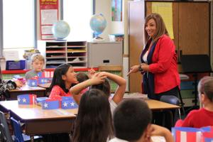 Rodel teacher uses previous career to engage students