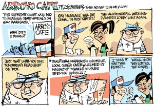 Daily Fitz Cartoon: Arroyo Cafe