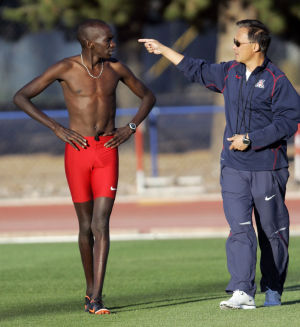 Photos: UA distance runner Lawi Lalang