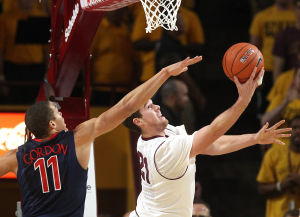 ASU upsets Arizona Wildcats 69-66 in double overtime