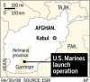 Marines storm Afghan town held by Taliban