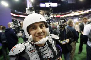 Photos: Media day circus hits Phoenix