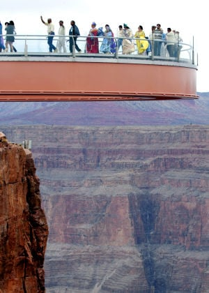Amazing Skywalk at the Grand Canyon