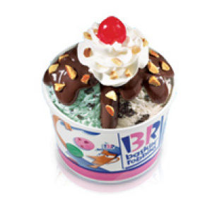 Baskin-Robbins thanking customers with special deals