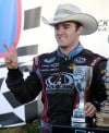 Auto racing: Dillon capitalizes on foes' misfortunes