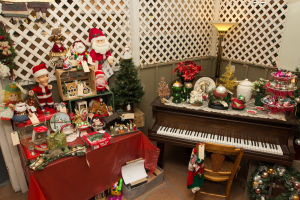 Christmas arrives at Tucson's Copper Country Antiques
