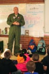 Airmen in your community: Airmen participate in local schools Career Day