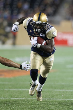 Ex-Cat Grigsby finding holes, home in Winnipeg