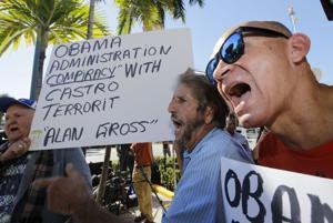 Exilio cubano critica medidas de Obama