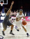 UA women: Cats can't climb out of early hole