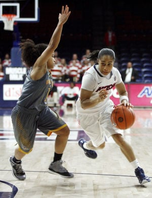 Arizona women roll over UC-Santa Barbara