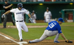 Tucson Padres Patrick Finley: Decker hopes shift can be majors one