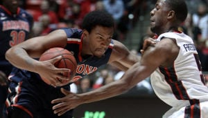 Men's basketball: Arizona 77, Utah 51: Wildcats mute Utes