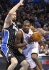 Thunder 97, Magic 89: Durant opens season with 30 as Oklahoma City wins