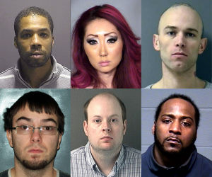 Photos: National mug shot roundup