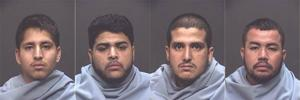 Four arrested following armed robbery in Oro Valley