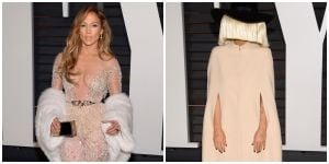 Photos: Fashion risks celebs took at Oscar after-parties