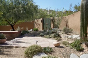 Near Sabino Canyon, clever backyard features catch the eye